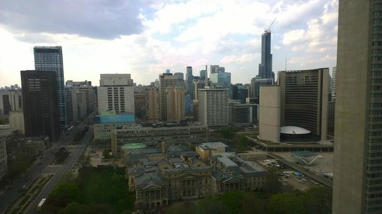 Hilton Toronto : View from 29th floor
