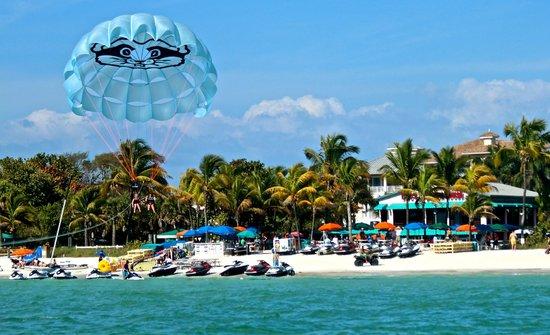 Bonita Jet Ski And Parasail Great Scene On Location Of Docs Beach House On Bonita