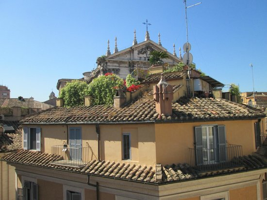 Albergo Cesari: View from the roof top terrace