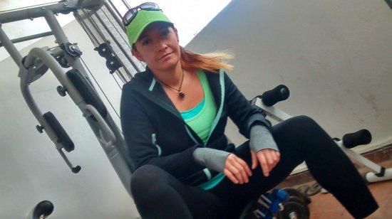 Ryad Laarouss: gym