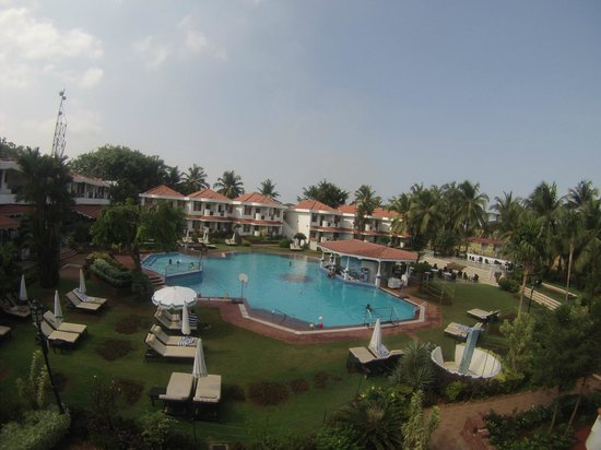 Heritage Village Club Goa: вид из номера