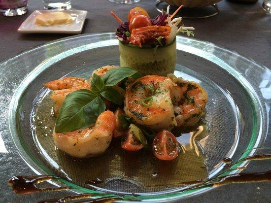 Capella : Baked prawns