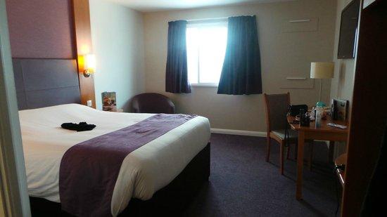 Premier Inn London Docklands (Excel) Hotel: my room