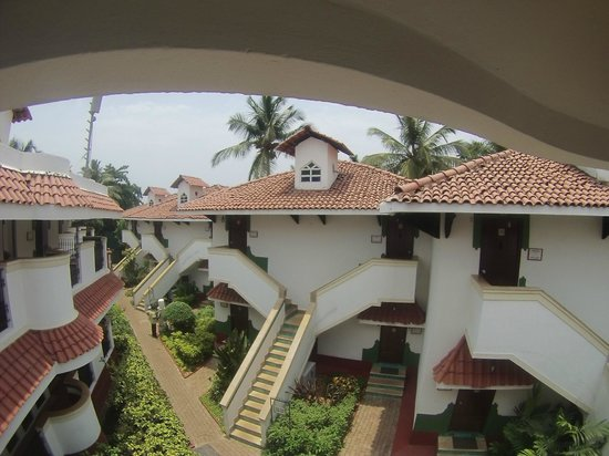 Heritage Village Resort & Spa Goa : корпуса номеров