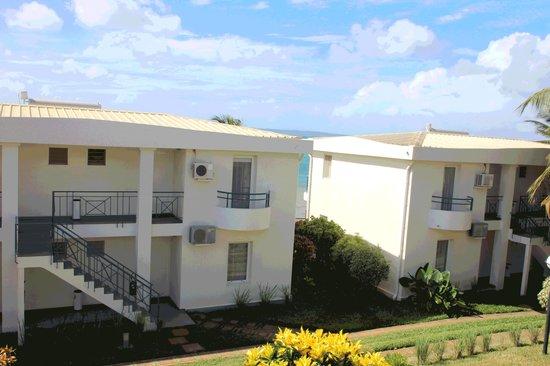 Allamanda Hotel : Vue du balcon de la chambre