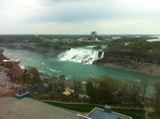 Fallsview Casino Resort: You can see everything from up here