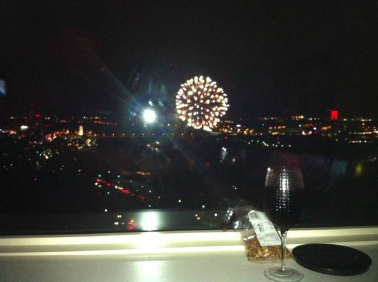 Fallsview Casino Resort: Victoria Day Fireworks, best seat in the house