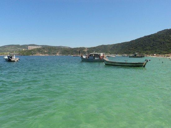 Forno Beach: Desde el barco