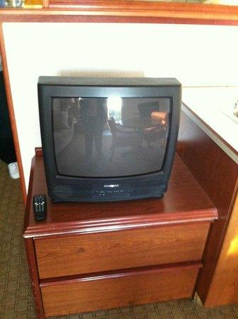 Shilo Inn Suites - Ocean Shores: Ancient TV