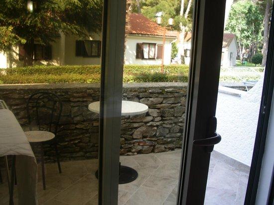 Villa Laguna Galijot: Вид из номера в отеле 1 этаж