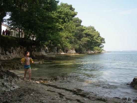 Villa Laguna Galijot: Пляж