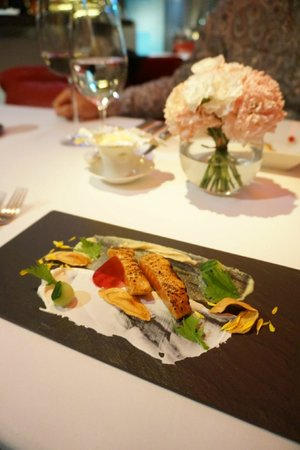 The Landis Taichung: Dinning on the Top of One restuarant
