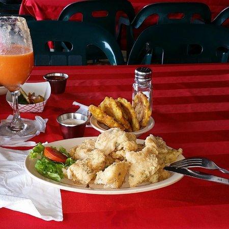 El Mar de la Tranquilidad: Mero empanado, riquisimo