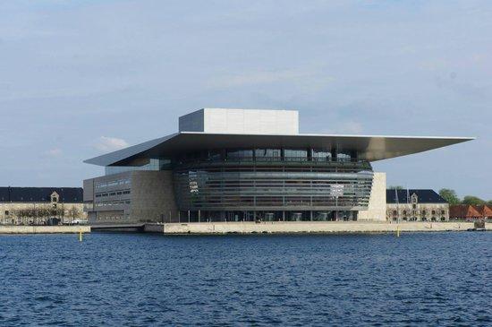 Copenhagen Opera House: The opera house.