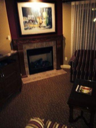 Vino Bello Resort: fireplace