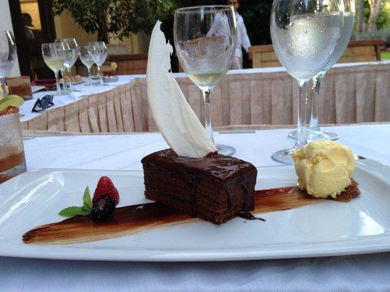 Casa Velas : chef's dinner dessert