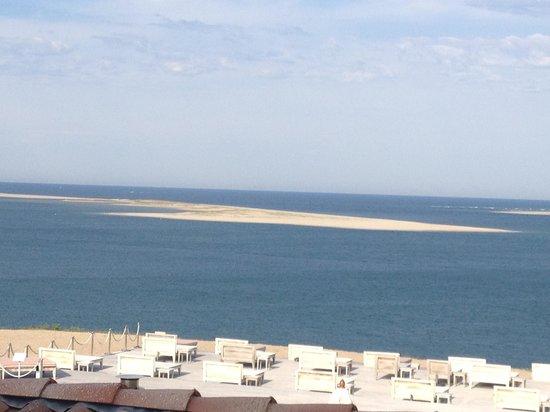 La Co(o)rniche : vue de la chambre