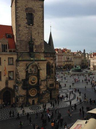 Grand Hotel Praha: Attic suite
