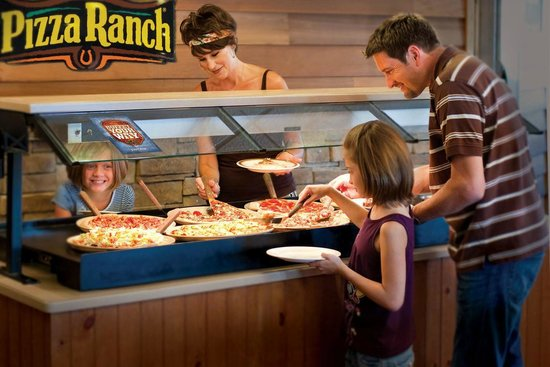 Pizza Ranch: Pizza buffet
