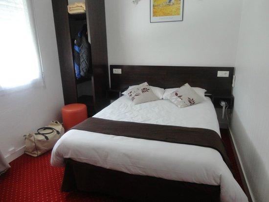 Hotel Les Atlantes: vue de la chambre