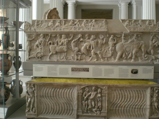 Fitzwilliam Museum: One of the exhibits at the Museum