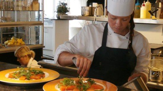 Ruths Hotel: Bussy chef