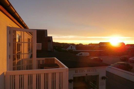 Ruths Hotel: Another sunset of Skagen