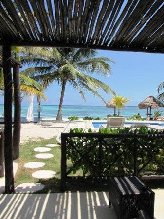 PavoReal Beach Resort Tulum: la veranda della junior suite