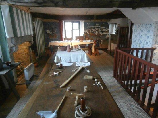 Tudor Merchant's House: dining room