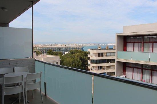 Four Elements Suites : terrasse