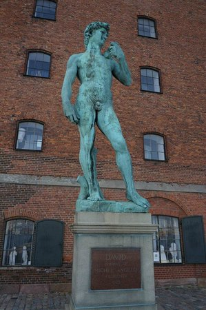 Den Kongelige Afstobningssamling: The stunning statue of David.