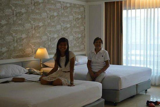 Centre Point Pratunam Hotel: 2 queen size beds