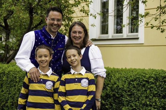 Hotel Laimer Hof: Familie Roesch: Ihre Gastgeber