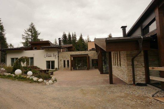 Hotel Auener Hof : 1626m - 1 Michelin Stern. Here we go!