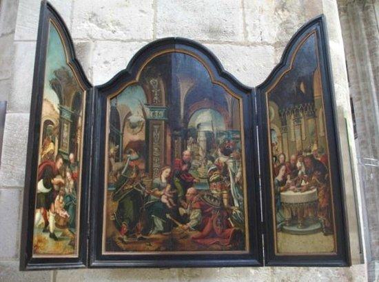 Gross St. Martin : The Magi Triptychon (1530)