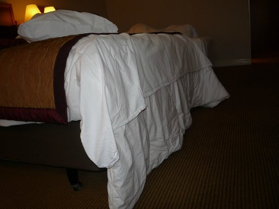 Crowne Plaza Hotel London-Heathrow : Unfitted duvet cover