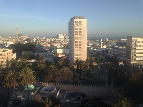 Novotel Casablanca City Center: View from the room