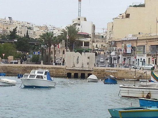 Fisherman And Cat Statue Picture Of Spinola Bay Saint