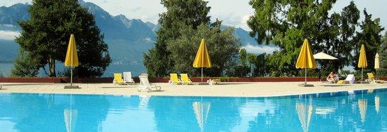 Eden Palace au Lac: Herlig badeanlegg til fri benyttelse.