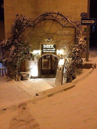 Dibek: Snowy front