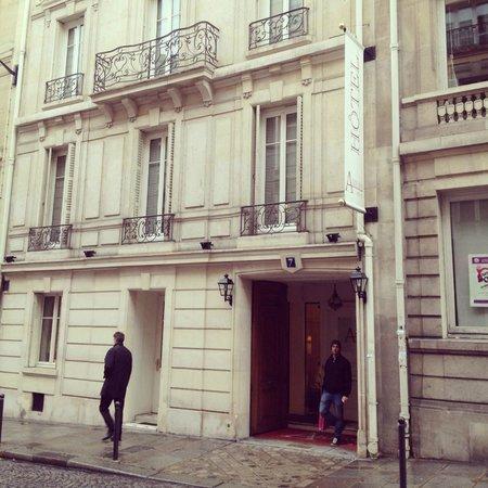 Hotel Arioso: fachada