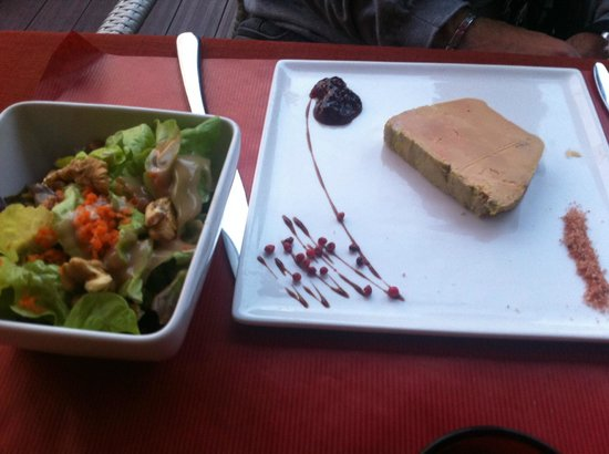 Le Clos du Périgord : Terrine de foie gras de canard