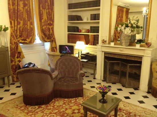 Hotel Arioso : hall entrada