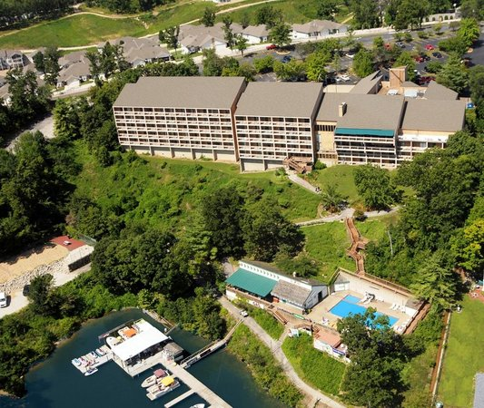 Inn At Grand Glaize: Aerial View