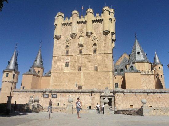 Alcazar de Segovia: En el Alcazar