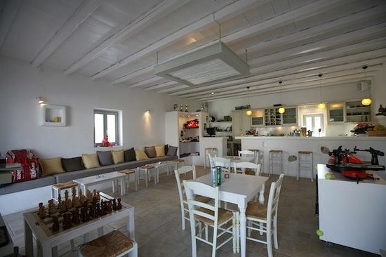 Paros Tennis Club: Club House