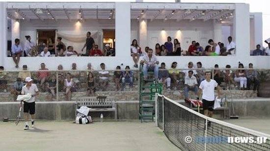 Paros Tennis Club: Tournament Day!