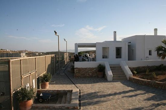 Paros Tennis Club: Club House