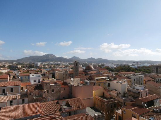 Hotel Panorama : View from roof terrace