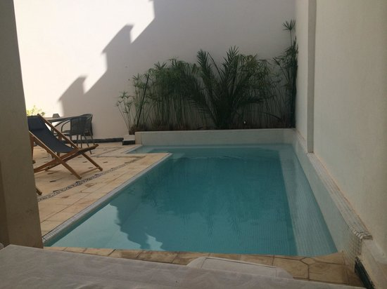 Riad Alma: Pool at the Riad